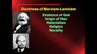 Video Bible Study: Marxism / Communism or the Gospel of Jesus - Part 2