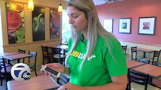 Amherst Subway owner calls phone scammers - Video