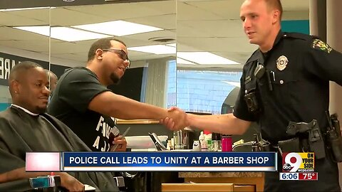A barbershop's run-in with police became an inspiring community connection