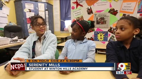 Winton Hills students win national book-writing contest