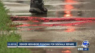 Uneven sidewalk? Don't call the city - Video