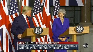 ABC News Special Report: President Trump holds joint conference with UK Prime Minister Theresa May