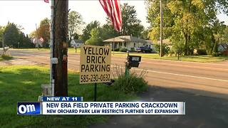 New Era Field private parking crackdown