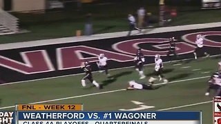Weatherford vs. Wagoner - Oklahoma High School Football - Video