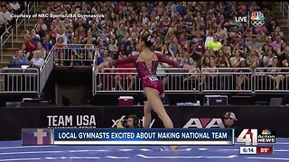 Two local gymnasts make women's national team