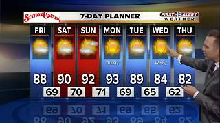 13 First Alert Weather for September 15 2017 - Video