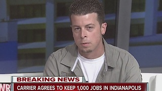 Long-time Carrier worker talks about excitement, fears over deal to keep jobs in Indiana - Video