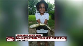 34-year-old man charged in fatal shooting of 6-year-old Milwaukee boy - Video