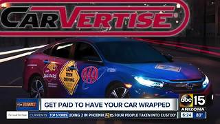 Make money by driving around with your car wrapped - Video