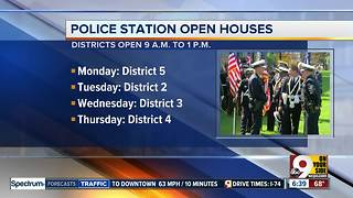 Police districts hold open houses during Police Memorial Week