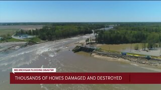 Thousands of homes damage and destroyed