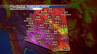 Slight chance of Valley rain on Thursday - Video