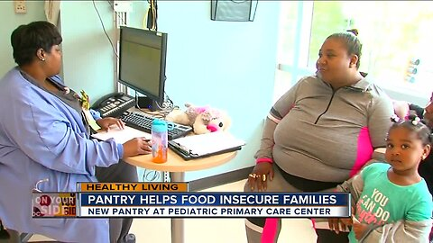 Pediatrician's office opens pantry for food-insecure families