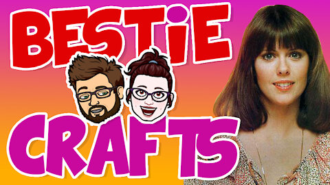 Bestie Crafts - Crappin' it up! - Learn how to distress stuff!