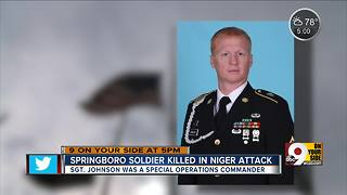 Special operations commander from Springboro killed in Niger attack - Video
