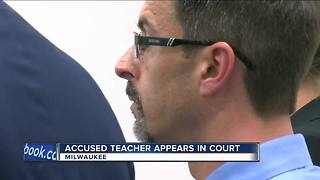 Former Milwaukee teacher appears in court for sexual assault charge