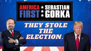 Yes, they did steal the election. President Donald J. Trump with Sebastian Gorka on AMERICA First