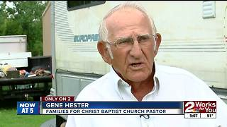 Church runs into trouble while helping veteran