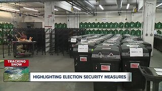 Cuyahoga County offers voters rare look inside elections warehouse where votes will be counted