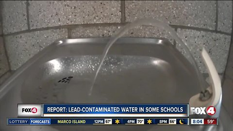 Florida gets failing grade for water testing in schools