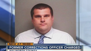 Walworth County corrections officer says he was charged for helping inmate's pain - Video
