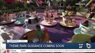 Guidance for California theme parks could come soon