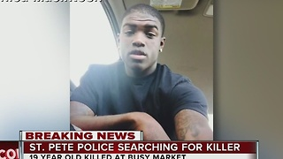 19-year-old man killed in St. Petersburg shooting - Video