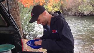 Adam's Adventures: Panning for gold in the Kern River! - Video