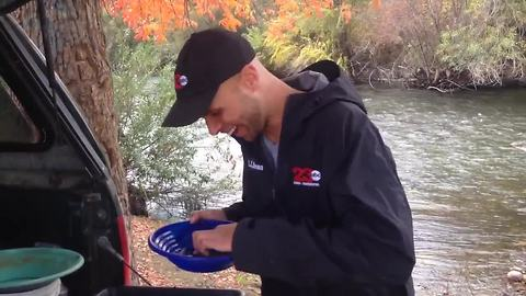 Adam's Adventures: Panning for gold in the Kern River!