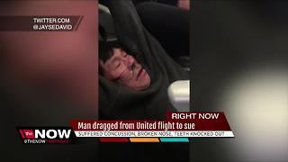 Doctor dragged off United flight to file lawsuit against airline - Video