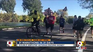Double amputee veteran fundraising - Video