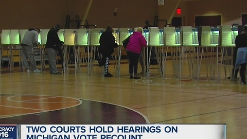 Bill Schuette on ballot recount hearings