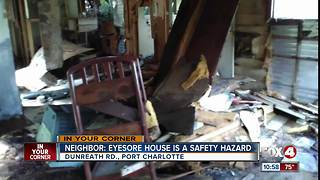 Neighbor says house is a safety hazard - Video