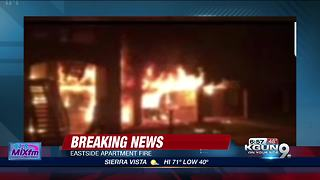 Crews fight eastside apartment blaze - Video