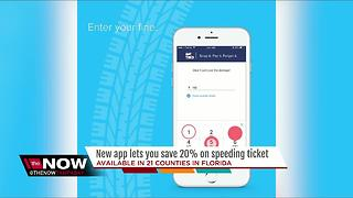 New app helps lower your traffic ticket - Video