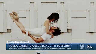 Tulsa Ballet Dancer, Recovering From Damage Due to Covid-19