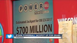 Local Powerball players hoping to get luck Wednesday night - Video