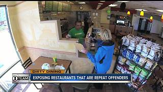 Dirty Dining: Golden Corral, Yummy House & Subway among 50+ restaurants with repeat violations - Video