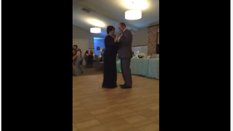 Wedding Guests Are Caught By Surprise When Mother-Son Duo Takes The Floor