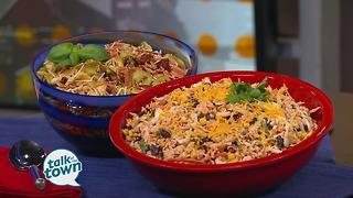 Ann Cox Eastes Taco & Tortellini Salads - Video
