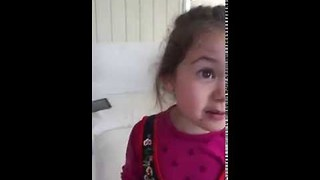 Kind-Hearted Girl Explains Why She Won't Eat Meat - Video