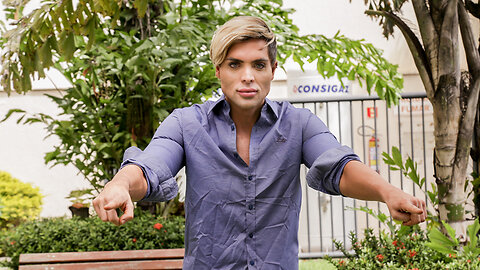 The $1 Million Brazilian Ken Doll | HOOKED ON THE LOOK