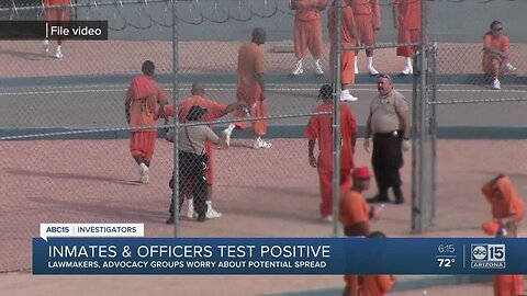 Inmates and officers test positive for coronavirus in Arizona