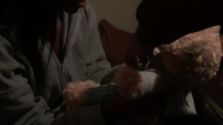 Girl Brought To Tears By Teddy Bear With Her Late Father's Voice - Video