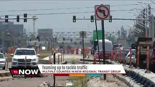 Transportation leaders team up to tackle traffic - Video