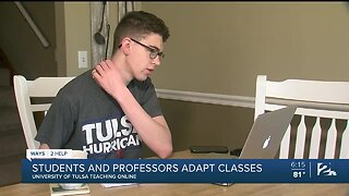 TU Students and Educators Adjust to College Life Away From Campus