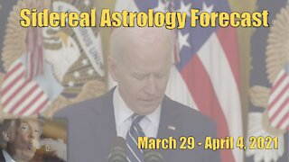 Sidereal Astrology Forecast: Week of March 29-April 4, 2021
