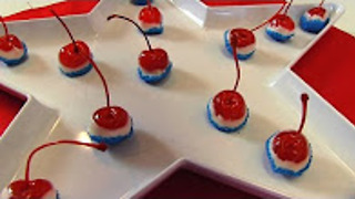Betty's Non-alcoholic 4th of July Cherry Bombs - Video