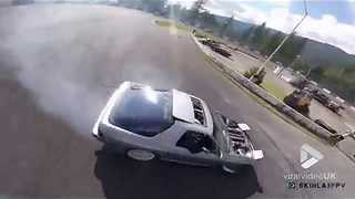 Drone Chasing Drift Cars - Video