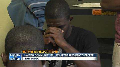 San Diego Haitian community in limbo after presidential decision to end TPS program
